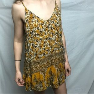 Urban outfitters yellow dress